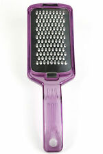 Parmesan Cheese Grater, Fine Zester, Spice Grater with Collection Box