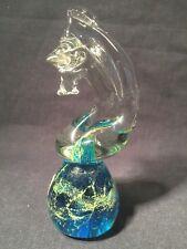 Mdina Glass Horse Knight Paperweight (ref W379)