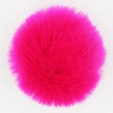 DIY 8CM Cute Faux Rabbit Fur Pom Pom Ball Pompoms Knitting Hat Accessories