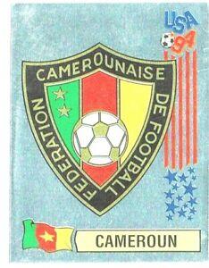 Panini World Cup USA 94 Wappen Sticker # 96 CAMEROUN