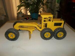 Vintage Pressed Steel Tonka Grader Maintainer Construction Toy MR-970 !