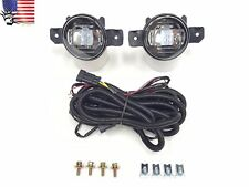 For 2004-2016 Nissan Sentra Infiniti G37 Front Bumper Clear Fog Light Kit LED DR