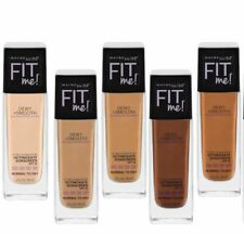 MAYBELLINE FIT ME! DEWY & SMOOTH FOUNDATION MAKEUP NEW & SEALED YOU CHOOSE SHADE