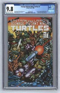 Teenage Mutant Ninja Turtles #7 1st Color TMNT Story In A Comic 1986 CGC 9.8