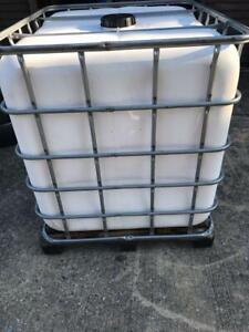 NO SHiPPING! LOCAL PICK UP ONLY! 18017 - IBC Schutz 275 Gallon Storage Totes