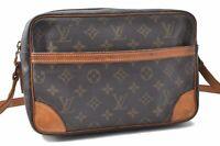Authentic Louis Vuitton Monogram Trocadero 27 Shoulder Bag M51274 LV A9223