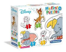 Clementoni Kids Children Disney Classic Aninmals 4 in 1 Puzzle Game