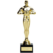 ACHIEVEMENT TROPHY OSCAR STYLE TROPHY ENGRAVED FREE WELL DONE AWARD TROPHIES