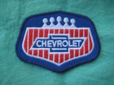 "Chevrolet  Service  Uniform Patch 3 3/8"" X  2 3/8"""