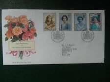 fdc  2nd August 1990 90th Birthday HM The Queen Mother.addressed