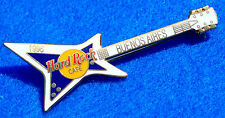 BUENOS AIRES ARGENTINA *PURPLE & WHITE EXPLORER* 1996 GUITAR Hard Rock Cafe PIN