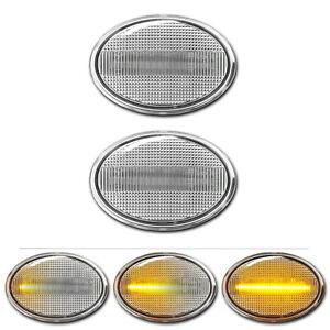 WEISSE dynamische LED Seitenblinker Mini Cooper S One JCW R55 R56 R57 R58 R59