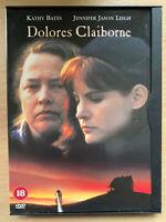 Dolores Claiborne DVD 1995 Stephen King Psicologico Drammatico IN Snapper Case