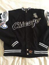 "Men's White Sox Chicago American League Baseball Jacket Size M/L50"""