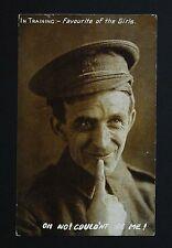 1914 WW1 Postcard Soldier Cannon Street Sherwood Nottingham NG5