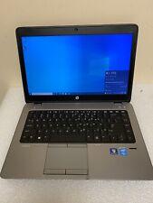 """HP Elitebook 840 G1 14"""" HD+ i5-4300U 1.9GHz 8GB 256GB SSD Win 10 Pro"""