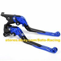 CNC Adjust Folding Extending Brake Clutch Levers For Yamaha YZF R1 R1M 2015-2019