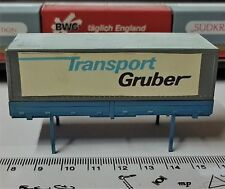 013 ❂ EXTRAS FOR TRUCKS CONTAINER BOX CONTENEDOR GRUBER ECHELLE 1:87 HO OCCASION