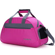 Womens Sports Gym Bag Travel Duffel 20 With Shoes Compartment Girls Pink