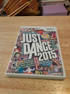 NINTENDO WII JUST DANCE 2015 W/MANUAL WII VIDEO GAME