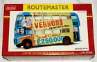 1:24 SCALE SUNSTAR ROUTEMASTER 2905: VERNONS POOLS LIMITED EDITION *NEW IN BOX*