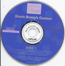 Arthur's 1st Grade Bionic Bunny's Contest (PC, 1999, Disc I, kids fun play Rare)