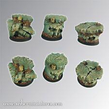 Scribor Miniatures: Spartan Ruins 25mm round bases #1- SMM-BRSP0062