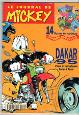 LE JOURNAL DE MICKEY n°2220 ¤ 1995 ¤ PARIS DAKAR