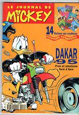 LE JOURNAL DE MICKEY n°2220 ¤ 1995 ¤ PARIS DAKAR