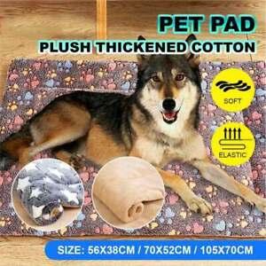 Warm Pet Mat Dog Cat Bed Mattress Sleeping Cushion Soft Blanket Coral Fleece