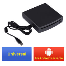 Universal 1din HD Car SUV Radio DVD Player External USB Connection for 12cm Disc