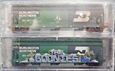 MTL N-Scale NSC NSE Burlington Northern Covered Hoppers 2-Pack Weathered New