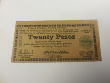 Philippines Emergency Currency Negros Twenty Pesos - Brown Paper - # 129925