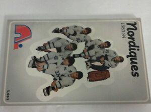 Vintage Hockey 1983-84 QUEBEC NORDIQUES Media Guide Rare NHL
