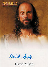 Spartacus 2012 Autograph Card signed by David Austin as Medicus
