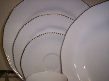 NEW 5pc. Pacific Hill Platinum china by Noritake