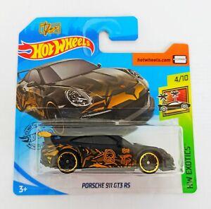 """Hot Wheels 1/64 3 inch Porsche 911 GT3 RS """"T-Fox"""""""