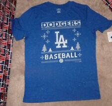NEW MLB LA Los Angeles Dodgers Christmas Holidays XMAS Youth Boys L Large 14 16