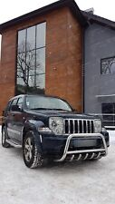 Jeep Cherokee / Liberty KK 2008-2012 | PARE BUFFLE PROTECTION AVANT EN INOX