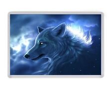 Fantasy Wolf Myth Goth Fridge Magnet Birthday Fathers Mothers Day Christmas Gift