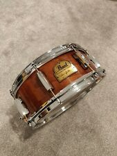 """Pearl Omar Hakim Signature Series Snare Drum 13"""" x 5"""" CW/ Protection Racket Case"""