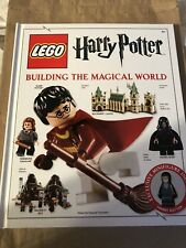 LEGO HARRY POTTER: BUILDING MAGICAL WORLD By Elizabeth Dowsett - Hardcover *NEW*