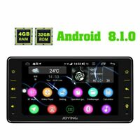 JOYING 1 Din Autoradio mit Bluetooth Zlink DSP Android8.1 Oreo 4GB RAM Head Unit