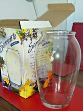 "NEW IN BOX - ""Sorrento"" by Rayburn - Beautiful Classic 24cm Glass Urn Vase"