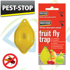 PEST STOP FRUIT FLY TRAP INSECT BUG CATCHER KILLER BAR KITCHEN LEMON SHAPED