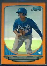 2013 BOWMAN CHROME MINI ORANGE REFRACTOR ALFREDO ESCALERA-MALDONADO #'D 12/15