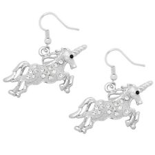 Unicorn Fashionable Earrings - Fish Hook - Sparkling Crystal