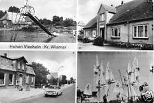 AK, Hohen Viecheln Kr. Wismar, vier Abb., 1987