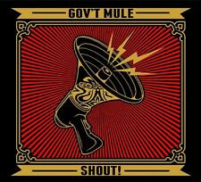 GOV'T MULE - SHOUT! 2 CD  22 TRACKS CLASSIC ROCK & POP  NEUF