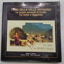 DEL BOCA L'oro della Valle Antigorio. Le acque minerali di Crodo (Ossola)
